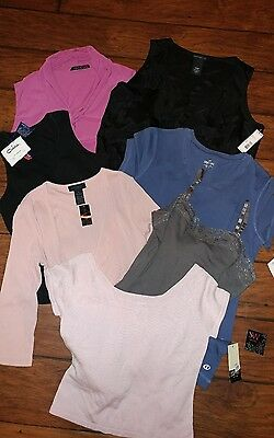 NWT WOMENS wholesale resell tops shirts lot The Limited Esprit Metaphor JW &more