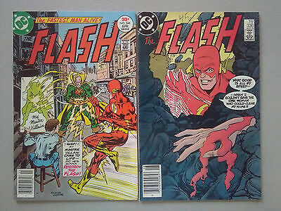 THE FLASH #248 and #336 = 2 vintage comics