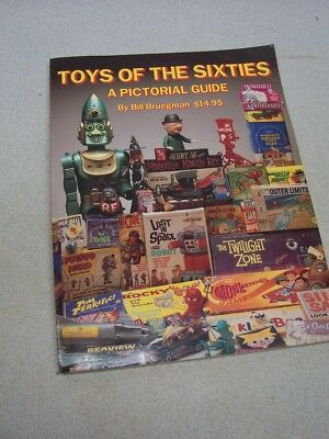 Original Collectable TOYS OF THE SIXTIES 1960s  Pricing Guide BOOK