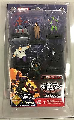 Marvel HEROCLIX Spiderman Fast Forces Pack - 6 figures NEW, SEALED canada seller