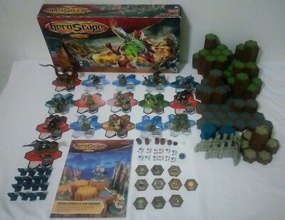 Heroscape Rise Of The Valkyrie Master Set NEAR COMPLETE MISSING 4 ITEMS PLAYABLE