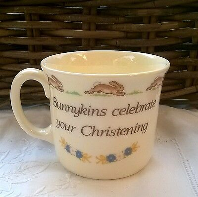ROYAL DOULTON BUNNYKINS CHRISTENING MUG 250ml - NEW in BOX