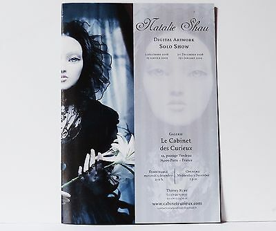 Natalie Shau - digital artist - dark art - sold out booklet 2009