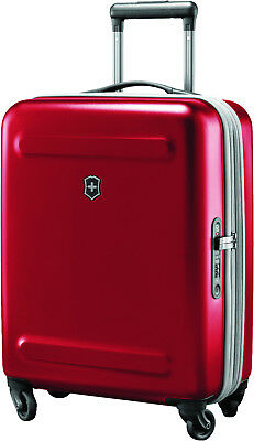 100% Genunie! VICTORINOX Etherius - 55cm Global Carry-On Red Suitcase Luggage