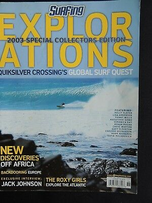 Surfing Magazine Explorations 2003 Summer Longboarding  Collector's Edition