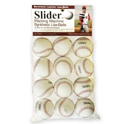 Trend Sports Slider Lite Synthetic Leather Pitching Machine Baseballs By The Doz
