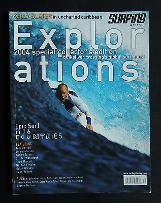 Surfing Magazine Explorations 2004 Vol3 Surfer Longboarding  Collector's Edition