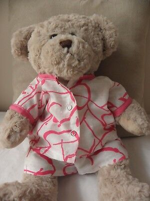 Print pyjamas to fit Pumpkin Patch teddy bear girls15 inch Build a bear clothes