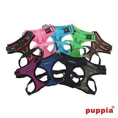 Authentic Puppia Dog Adjustable Harness Soft Mesh Various Colour & Size