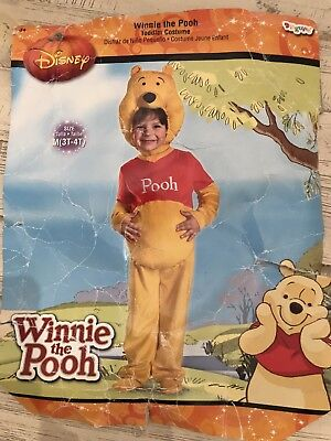 ad9f0886f04c DISGUISE~DISNEY S WINNIE THE POOH Halloween Costume~Toddler Size 3T ...