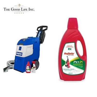 Rug Doctor Mighty Pro X3 Pet Pack Deep Carpet Cleaning Machine w/Upholste 64Oz..