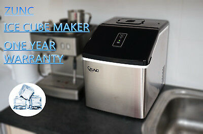Auto Ice Cube Maker Fast Easy Benchtop Portable Freezer Machine Home Office AU