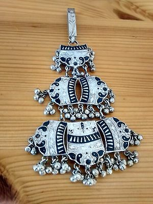 Bollywood Silver Traditional Indian Keychain