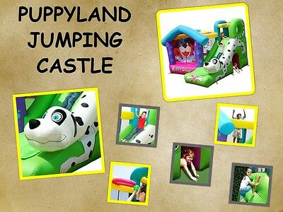 9109  PUPPY LAND Jumping Castle (Happy Hop)