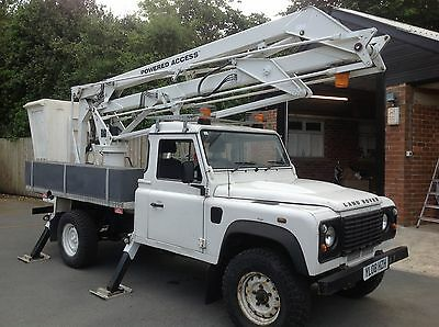 LAND ROVER DEFENDER 130 2.4 TDI 14.5mt LOW 55000 MILES ACCESS PLATFORM