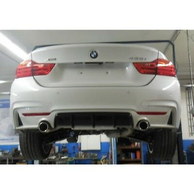 FOX SPORTS EXHAUST Duplex Stainless Steel 4 BMW F36 428i 245 PS Gran Coupé from