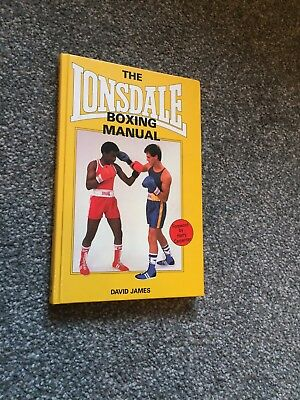 Boxing book. Hardback. By David James. The essential basic coaching manual.