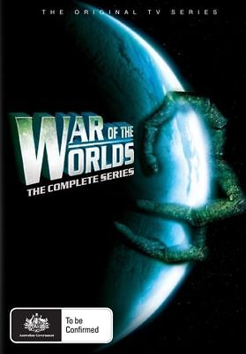 War Of The Worlds - The Complete Series (DVD, 2011, 11-Disc Set), NEW REGION 4