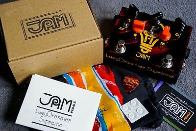 JAM Pedals - Lucy Dreamer Supreme - Boutique Overdrive Boost