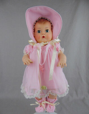 """Modern Reproduction 12"""" Tiny Tears Doll Made By Mattel 2003 Exc!"""