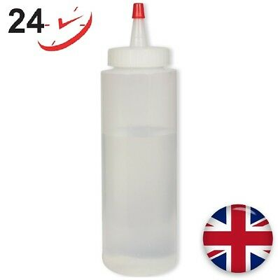 PME Plastic Squeezy Bottle 224g /8oz Working with Royal Icing Chocolate Custard