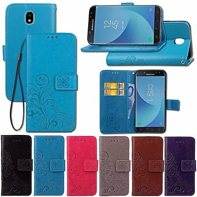For Samsung Galaxy J3 J5 J7 Pro 2017 Magnet Stand Wallet Flip Leather Case Cover