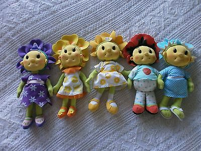 FIFI  &  THE  FLOWERTOTS    x  5   CUTE  SOFT TOYS