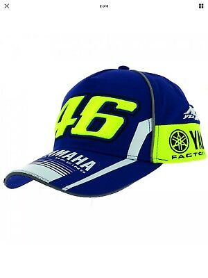 New Official 2017 - Valentino Rossi Vr46 M1 Yamaha Factory Racing Moto Gp Hat