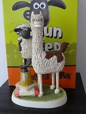 Harrop Wg25 Wallace & Gromit Shaun The Sheep The Farmer's Llamas Ltd Edt 300 Mib