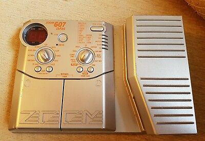 Zoom 607 Bass Multi-Effects Pedal