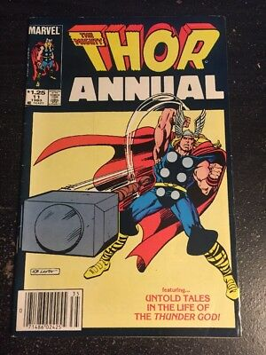 Mighty Thor Annual#11 Awesome Condition 7.5(1983) Layton Cover!!