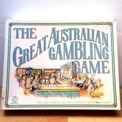 Vintage Board Game The Great Australian Gambling Game Exc Cond