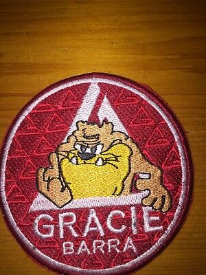 Gracie Barra Red Patch