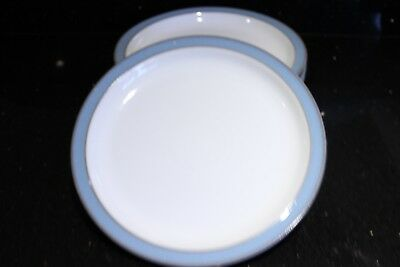 Denby Colonial Blue Oval serving plates 13 inch * 6