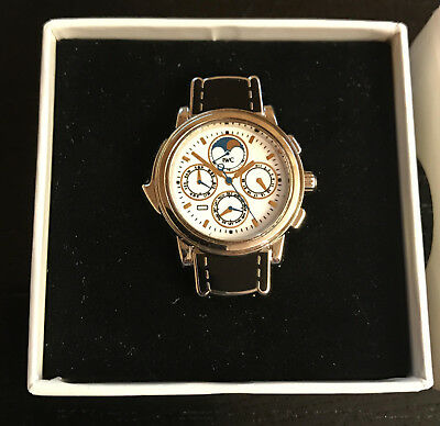 IWC (Ansteck-) Pin Grande Complication (GC) in weisser Box! Pin of the watch GC!