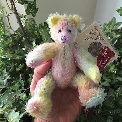 Russ - Vintage Mohair Teddy Bear Collection - Teddy Loulou~Signed by ARTIST!