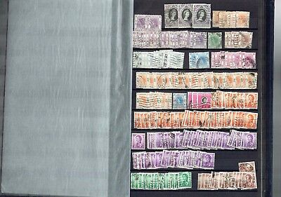 #240 Hong Kong QE2 ACCUMULATION used on 6x sides collection