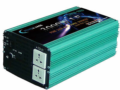 3000W LF Pure sine wave power inverter DC12V AC 230V 50Hz Converter power tools