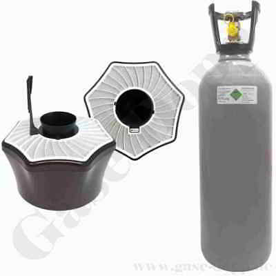 mückenfallen Set biogents bg-mosquitaire CO2 + 10kg Botella CO2 relleno NUEVO