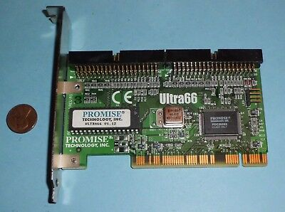 Promise Technology Ultra 66 Ata Pci Eide Controller Card