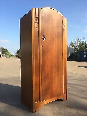 Vintage Beeanese Teak single wardrobe