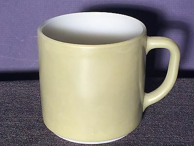 Federal glass Avocado Green Stackable coffee mug Great condition!!!