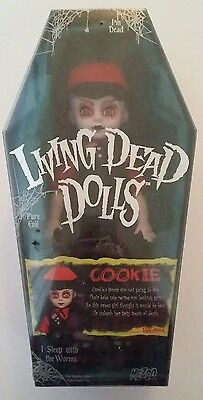Cookie living dead doll Spencer Gifts exclusive edition Rare sealed. LDD