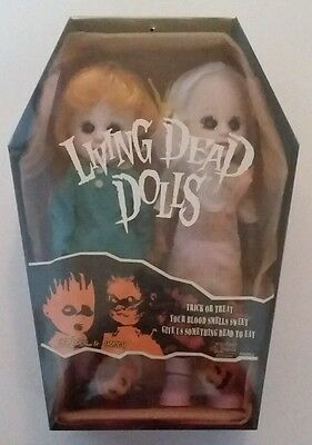 Hemlock & Honey living dead doll doubles Rare sealed. LDD Trick or Treat