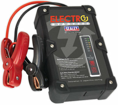 Sealey E/START800  Batteryless Power ElectroStart 800A 12V Battery Jump Starter