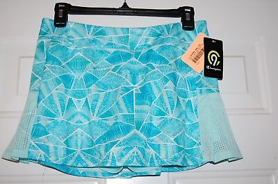 New Girls Blue Champion C9 Duo Dry Athletic Skort Skirt Size XL 14-16 FREE S&H