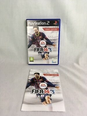 Fifa 14 Legacy Edition Case & Manual Only Playstation 2 Ps2