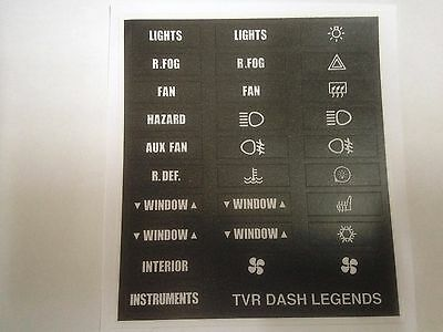 TVR Switch Legend decal