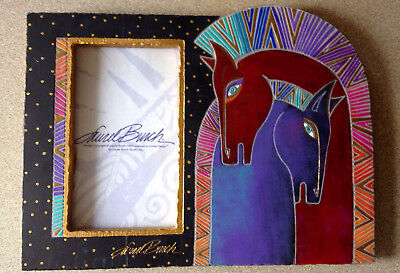 Laurel Burch Horse Head Picture Frame 1999