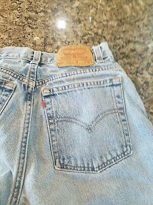 """Vintage 90s Women""""s LEVI Jeans 550 RED TAG Relaxed Tapered Leg Mom size 11 JR"""